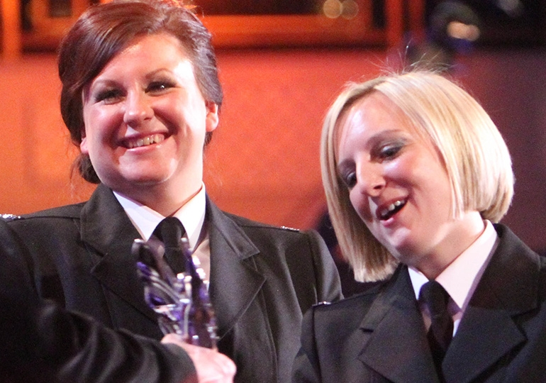 WPC Kelli Walker and WPC Katie Harvey - Dorset Police