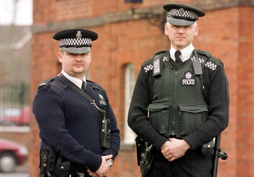 PC Daran Cagin and PC Ian Thomson