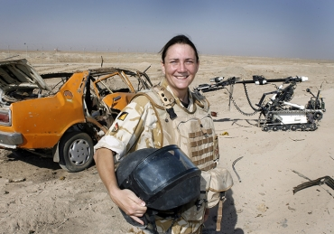 SGT Michelle Cunningham and The EOD Unit