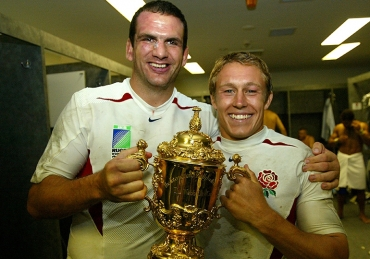 The World Cup Winning England Rugby Squad