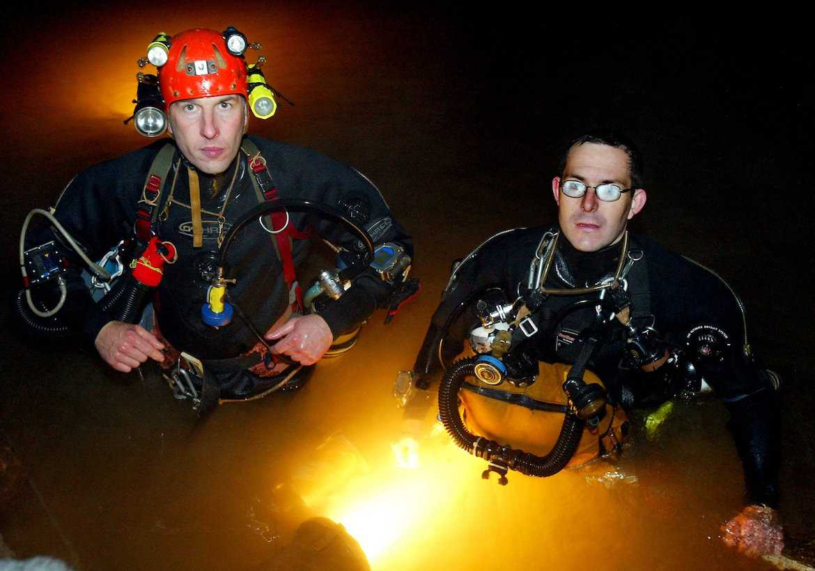 BRITISH CAVE RESCUE TEAM