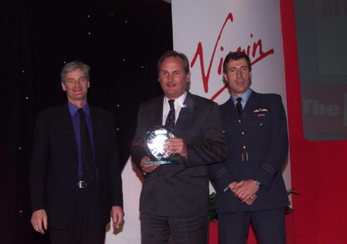 Richard Noble and Sqn. Ldr Andy Green