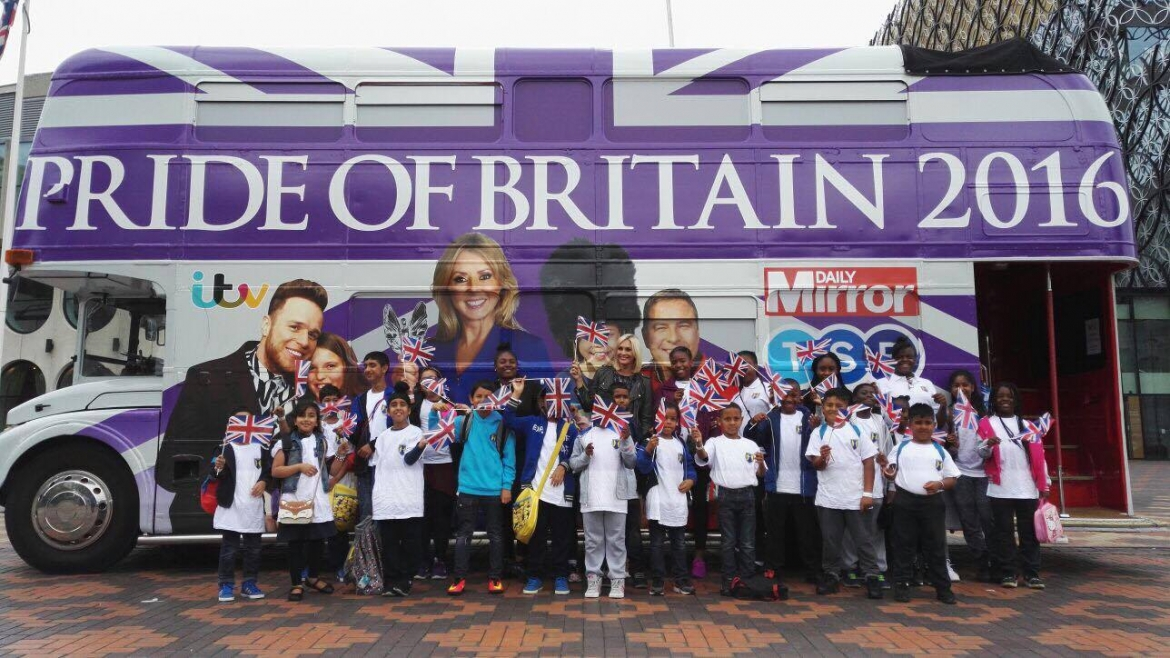 Pride of Britain Tour Day 6: Birmingham